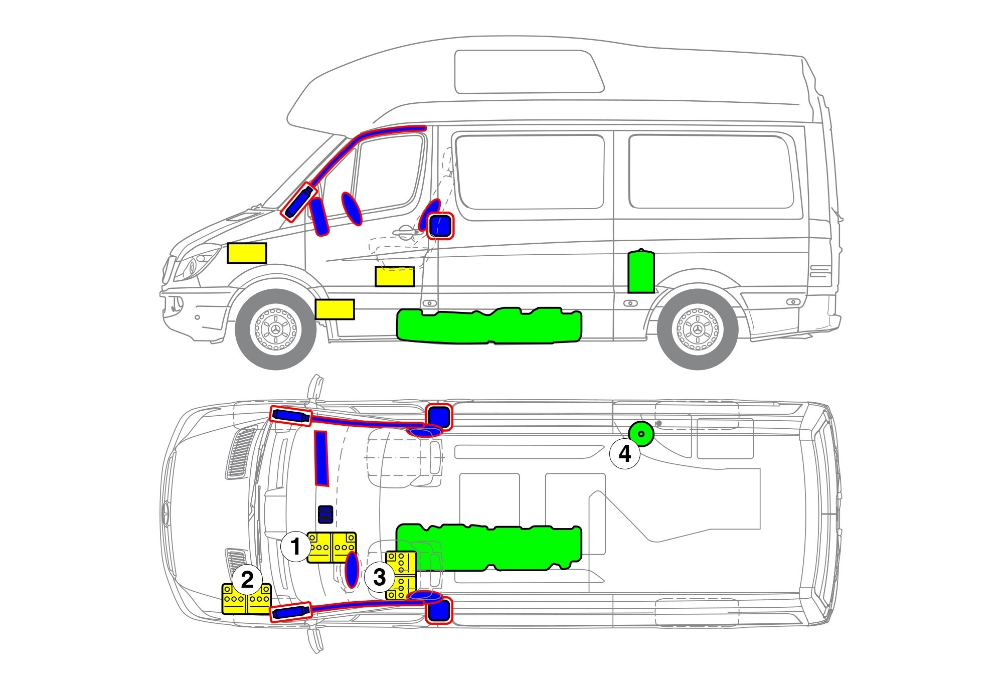 Sprinter JAMES COOK (Westfalia) Reisemobil, Typ 906